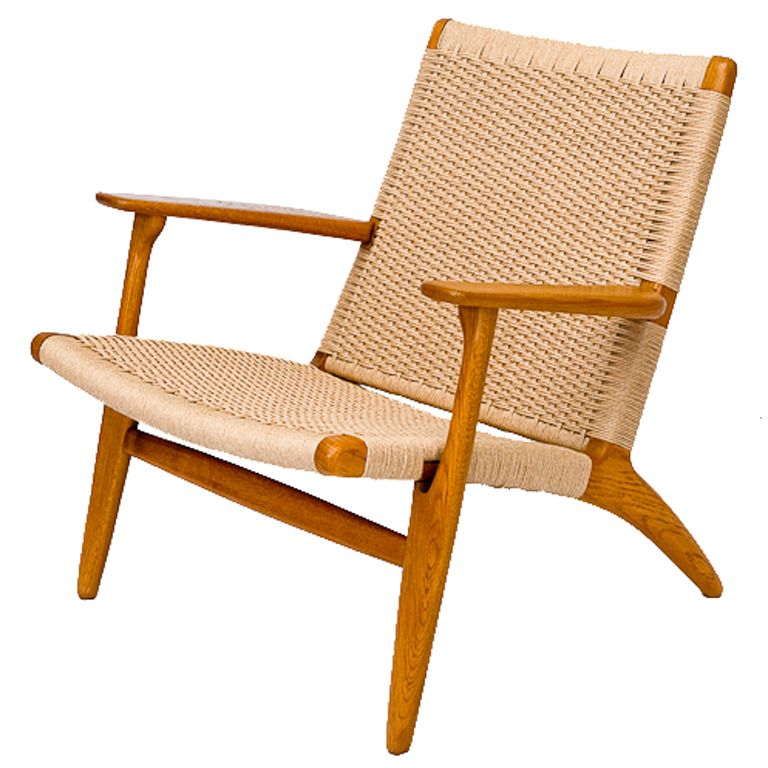 Awesome Hans Wegner CH 25 Lounge Chair
