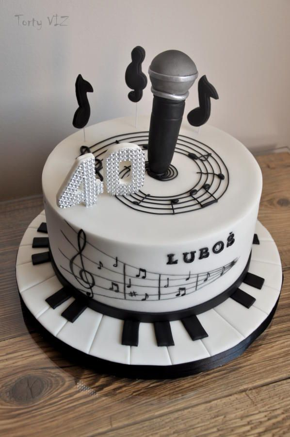 Music cake - Cake by CakesVIZ   Music cakes, Music note ...