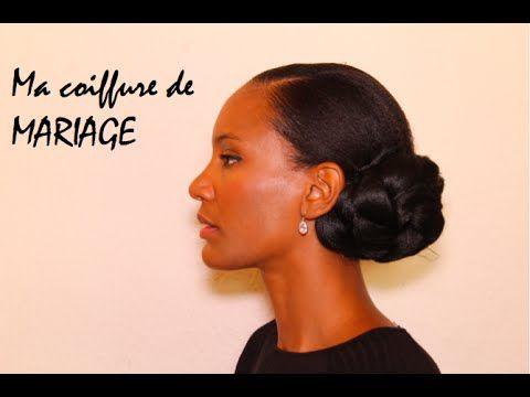 Coiffure et maquillage mariage afro