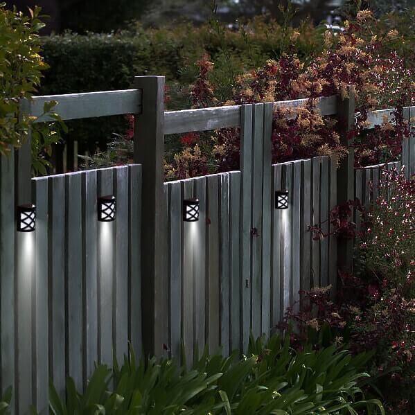 Solar Powered Wall Mount Led Garden Light Led Garden Lights
