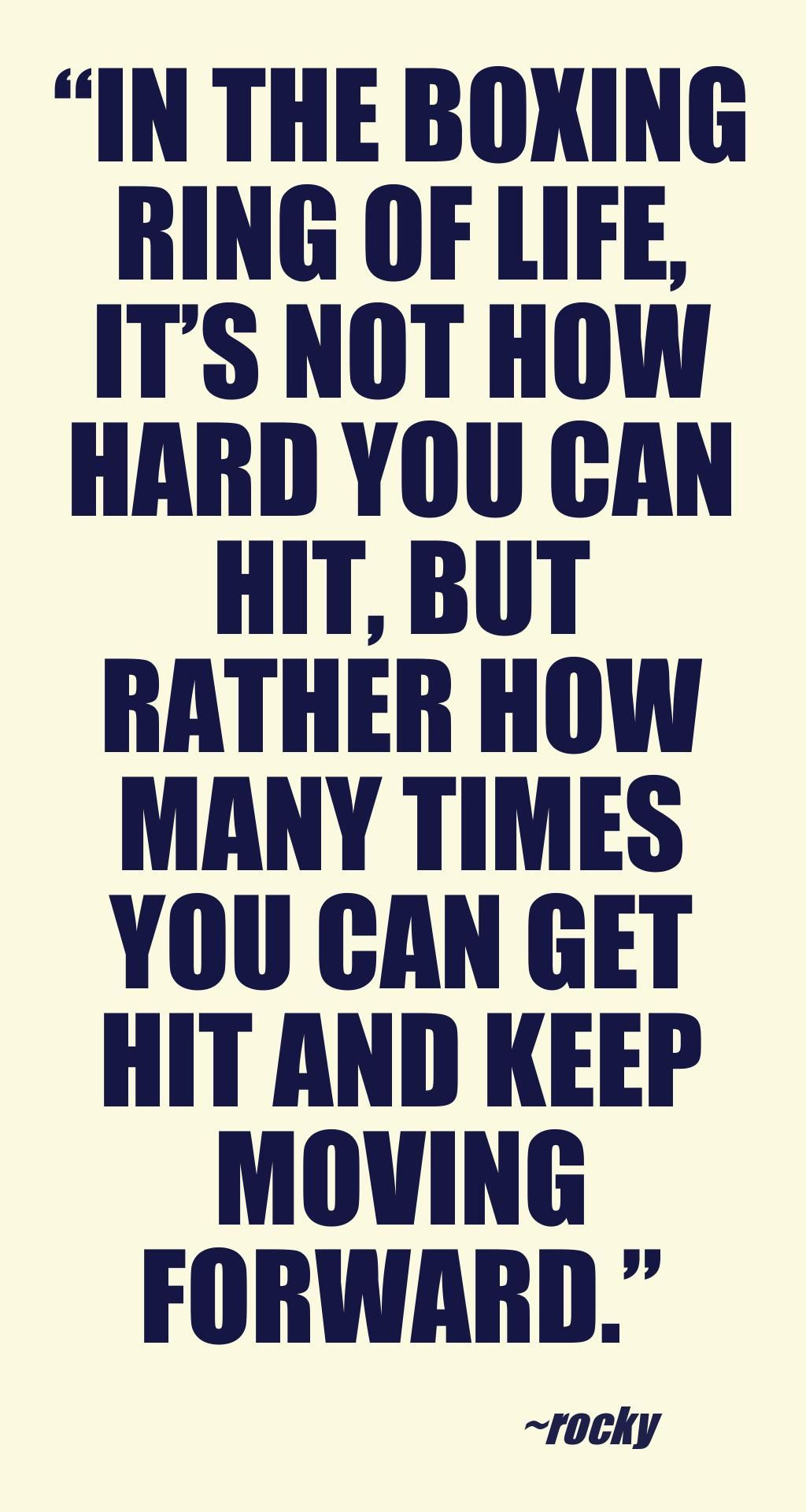 POSTER STUNNING FRAMED BOXING INSPIRATIONAL QUOTE 27 IT WILL HURT... PRINT