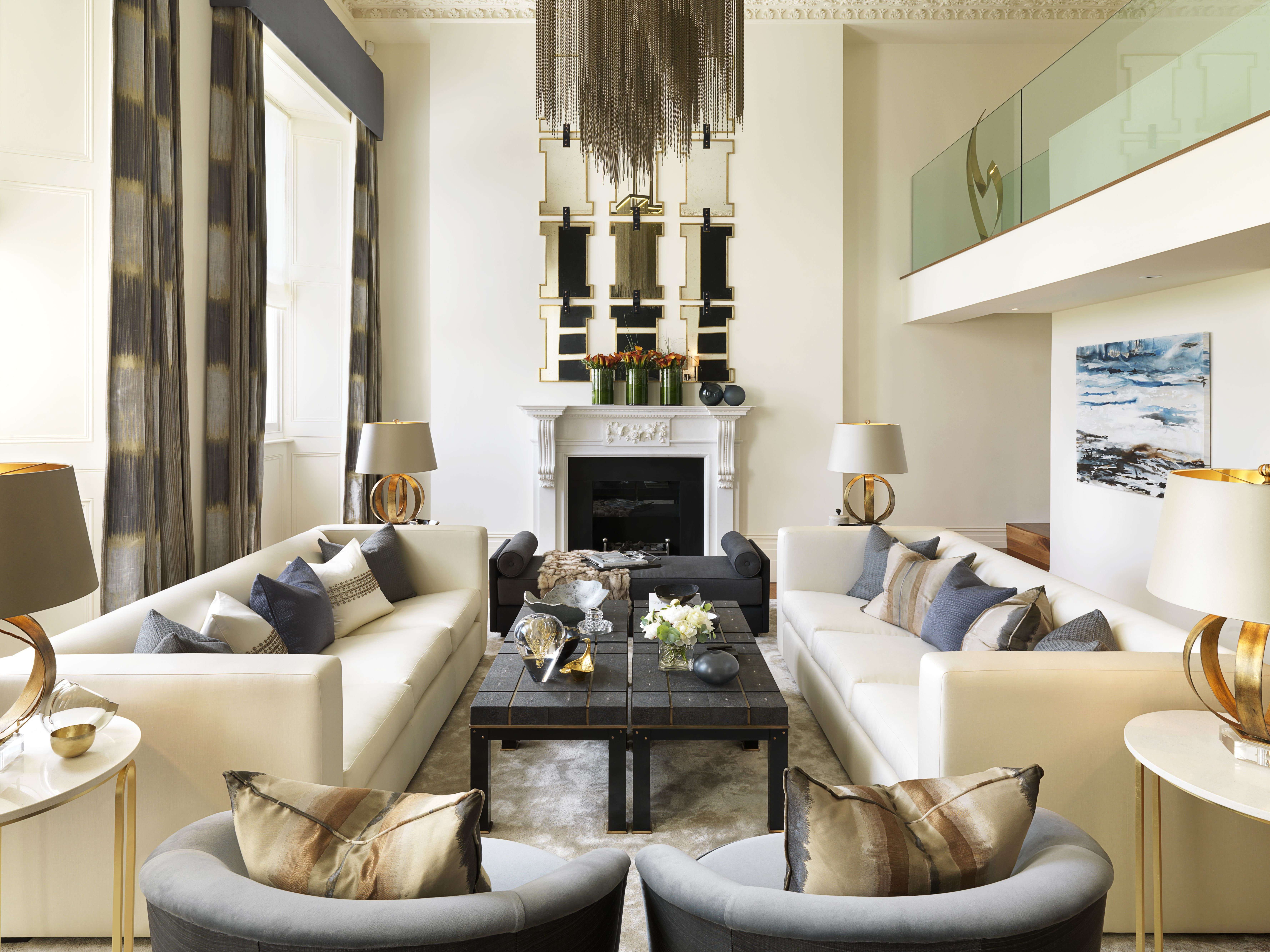 10 Luxury Living Room Decoration by Katharine Pooley | Living rooms ...