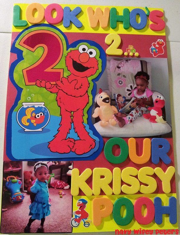 Uss Crafty Krissys 2nd Birthday Card On Sprout Eddies 2nd