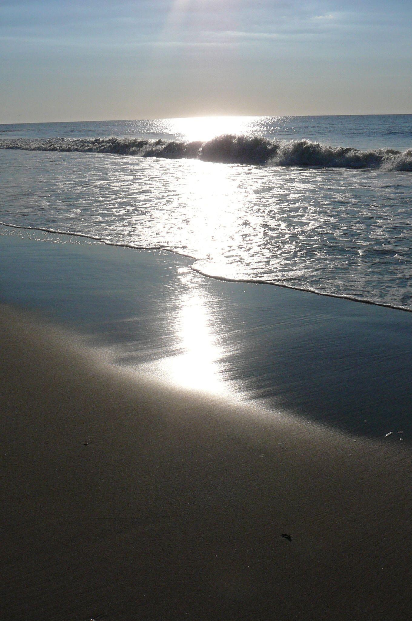 Sunrise Over The Atlantic Ocean Ocean City Nj Ocean City Ocean City Nj Ocean