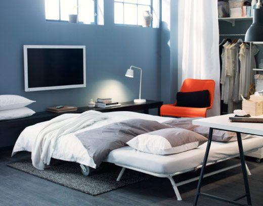 IKEA PS LÖVÅS 2-pers. sovesofa i en stue