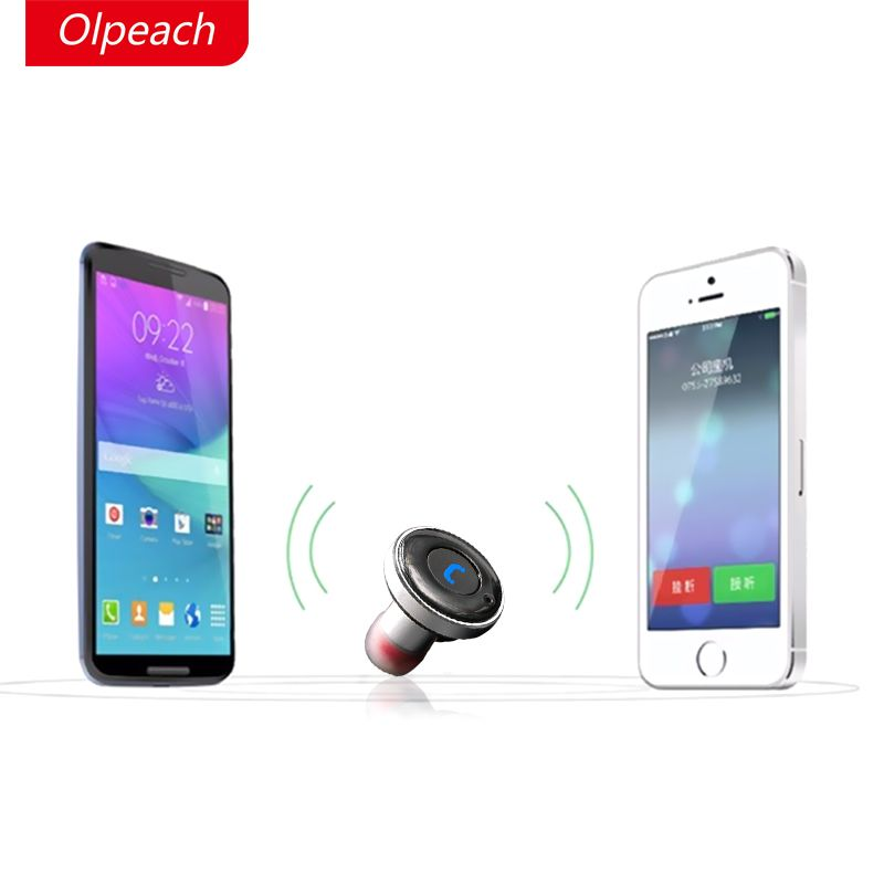 OLPEACH BC01 Mini Bluetooth 4.0 Earphones Car Phone Charger 2 in 1 Bluetooth Wireless in-Earphones Stereo Auto Charging #Affiliate