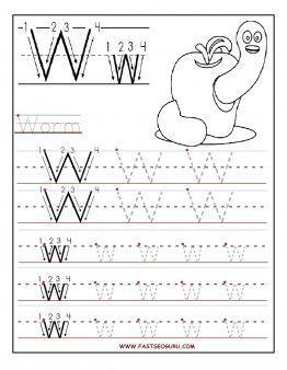 Number Tracing – 1 to 10 - Free Printable Worksheets - Worksheetfun Mais