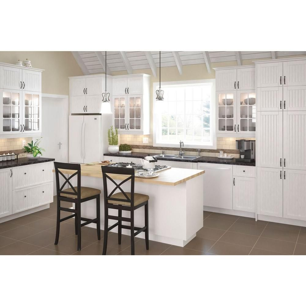 Eurostyle Reade To Assemble 30x83 5x24 5 In Odessa Pantry Cabinet In White Melamine And Kitchen Cabinets Home Depot Prefab Kitchen Cabinets Home Depot Kitchen