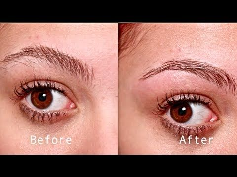 How to Wax Your Eyebrows at Home - YouTube | Hair color ...