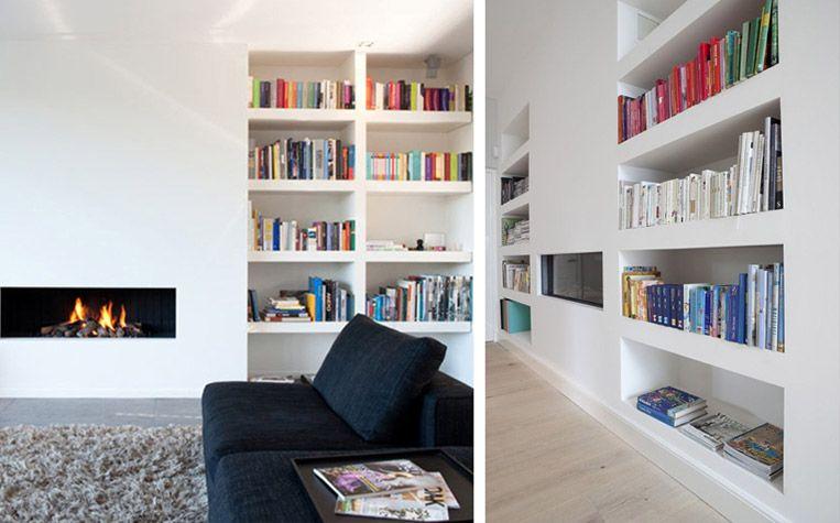 Fabrication De Meubles Integres L Assemblage Et Installation De Meubles De Tout Type En Ile De France Built In Shelves Living Room Home Interior Design