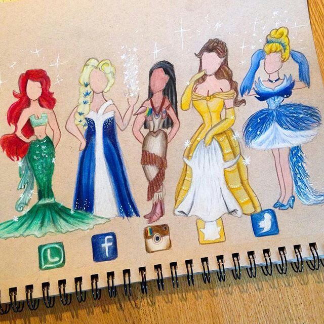 Disney princesses as apps dessin pinterest princess for Application dessin 3d