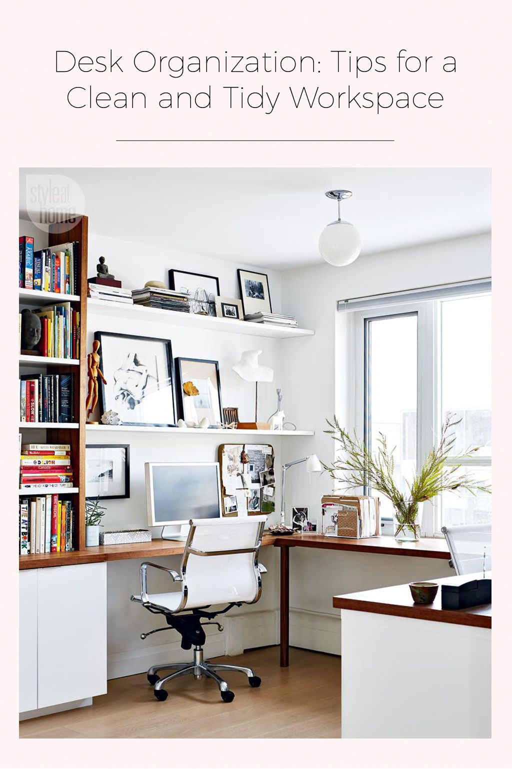 Desk Organization: Tips for a Clean and Tidy Workspace | Room ...