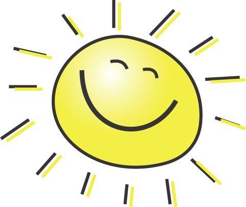 happy summer cartoon sun clipart hooray for summer pinterest rh pinterest com Winking Smiley Face Clip Art Flower Smiley Face Clip Art