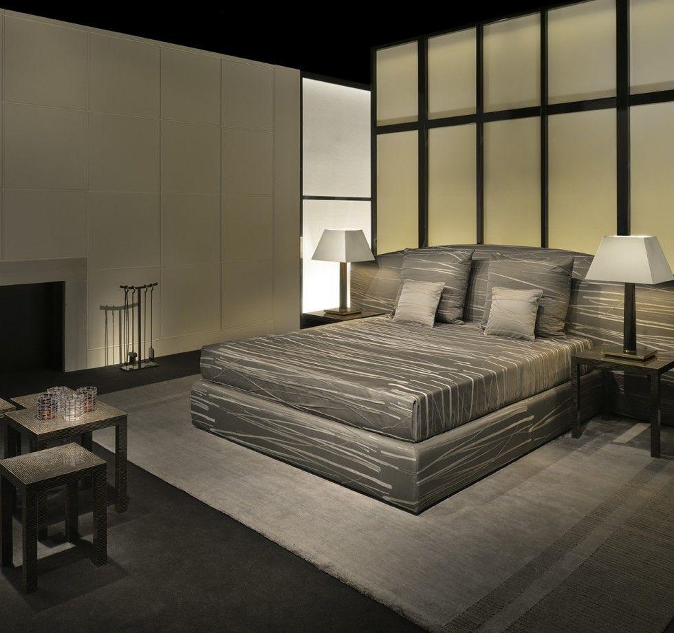 Armani bedroom Armani casa grey bedroom. For more