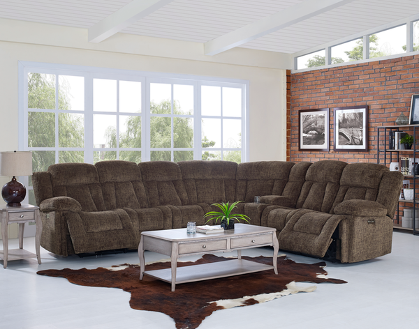 This Sectional Is Packed With Features You Ll Love From Customized Motion That You Can Stop The Recliner Sea New Classic Furniture Furniture Classic Furniture