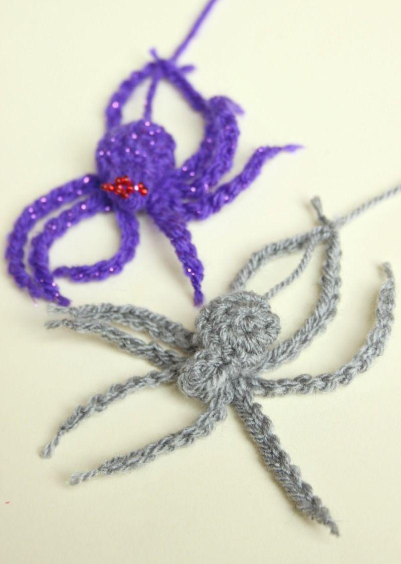 A Crochet House Spider. A Free Pattern for Hallowe\'en. | Pinterest ...