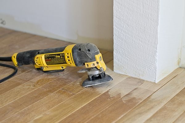 Refinishing Hardwood Floors With A Rental Floor Sander Updating House Refinishing Hardwood Floors Flooring