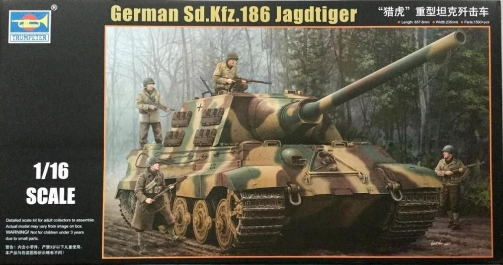 Details about Trumpeter 1/16 #00923 WWII German Sd Kfz 186
