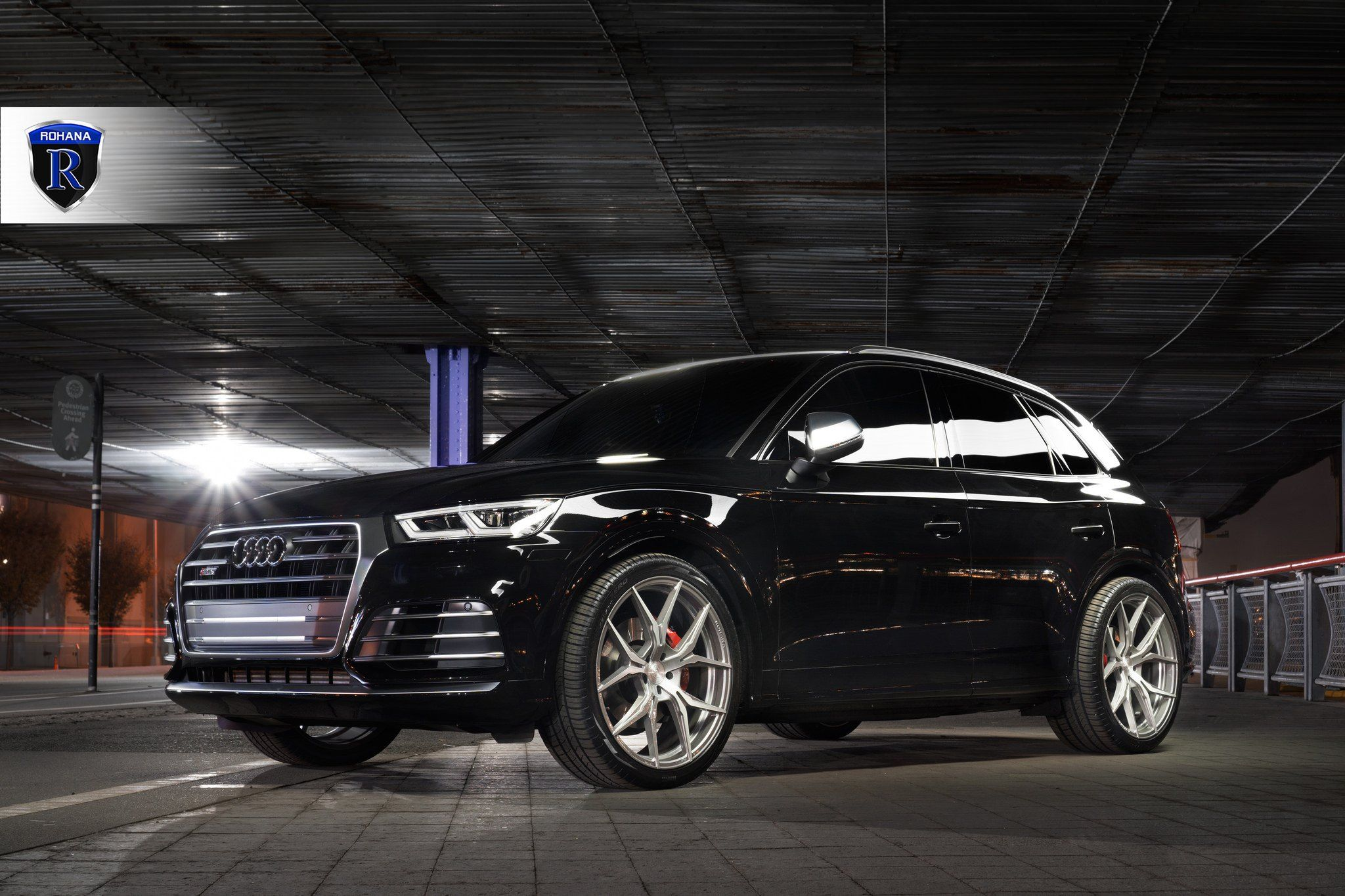 Black Audi Q5 On Chrome Rohana Wheels Black Audi Rohana Wheels Audi Q5