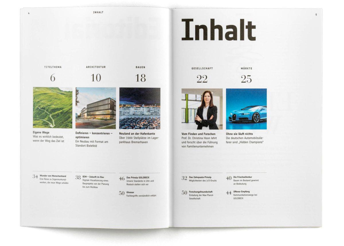 magazingestaltung editorial design inhaltsverzeichnis index editorial design. Black Bedroom Furniture Sets. Home Design Ideas