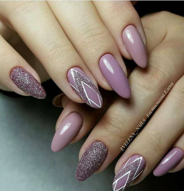 80+ Pretty Natural Acrylic Oval Nails Design Ideas – Page 56 of 88
