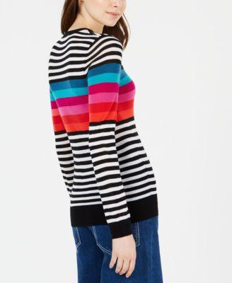4c81392aa Trina Turk Colette Striped Sweater - Multi XS in 2019