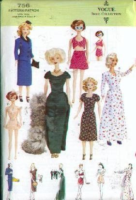 Free Sewing Patterns for Fashion Doll Clothes - The Spruce Crafts