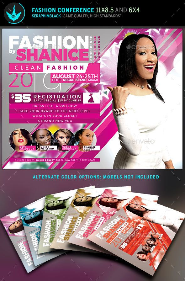 Fashion Conference Flyer Template 2 – Conference Flyer Template