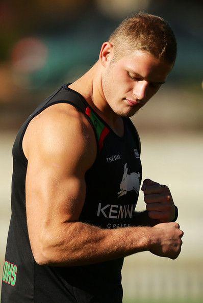 George Burgess Photos Photos South Sydney Rabbitohs Training Session Rugby Players Australian Rugby Players Australia Rugby
