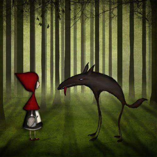 cappuccetto rosso ed il lupo