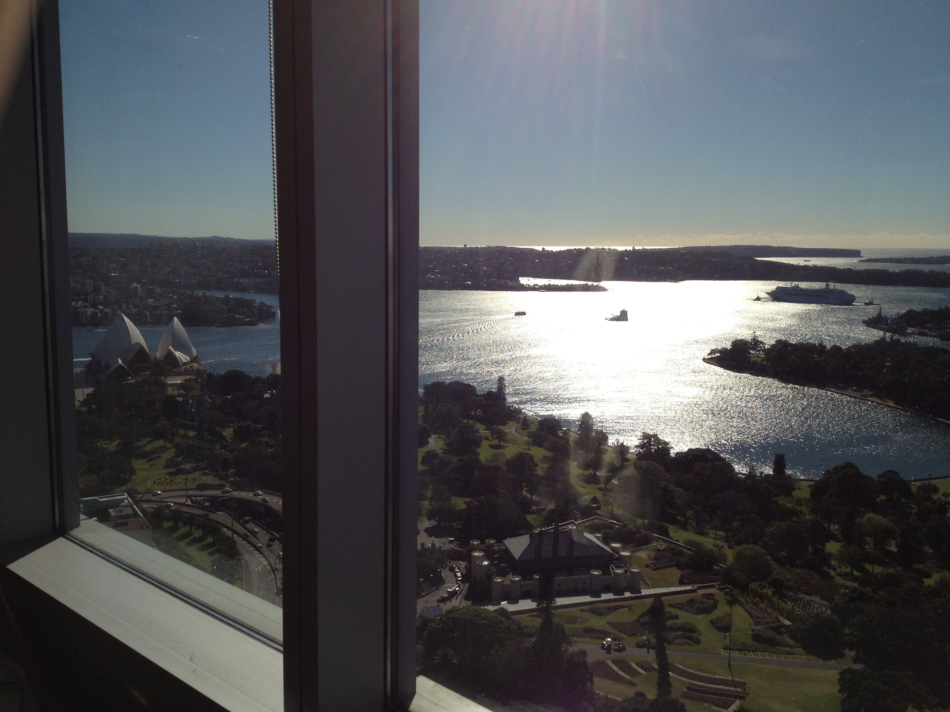 BCG Sydney - not a bad desk :)