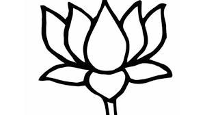 Image Result For Lotus Bjp Images Amit Flower Drawing Tumblr