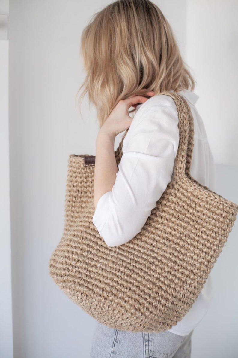 Crochet Shopper Bag by Pole Homeware