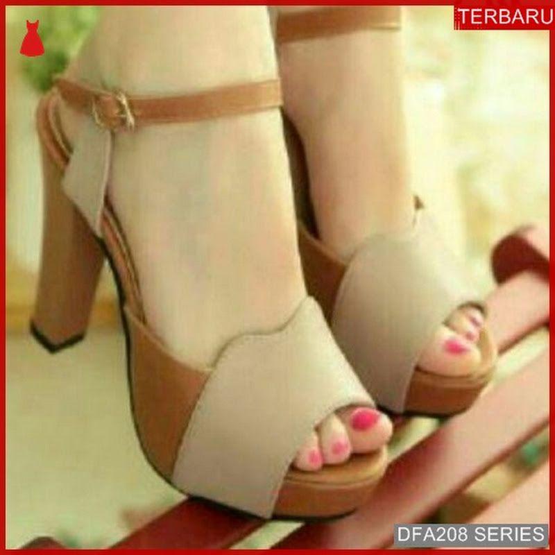 Dfa208d27 Dh211 Sandal Heels Bahjah Wanita 8677 Dewasa Bmgshop