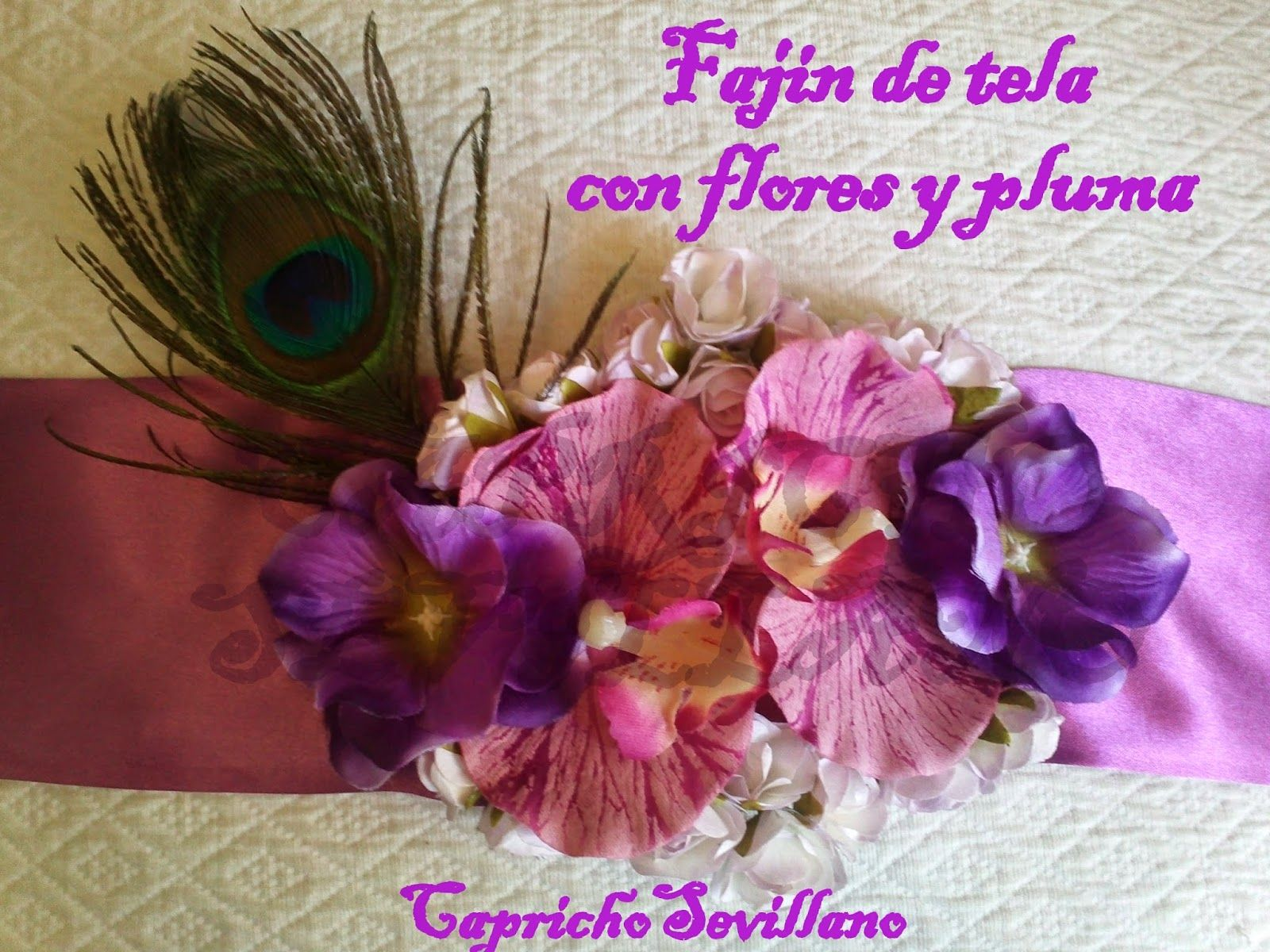fajin fiesta o flamenca con flores