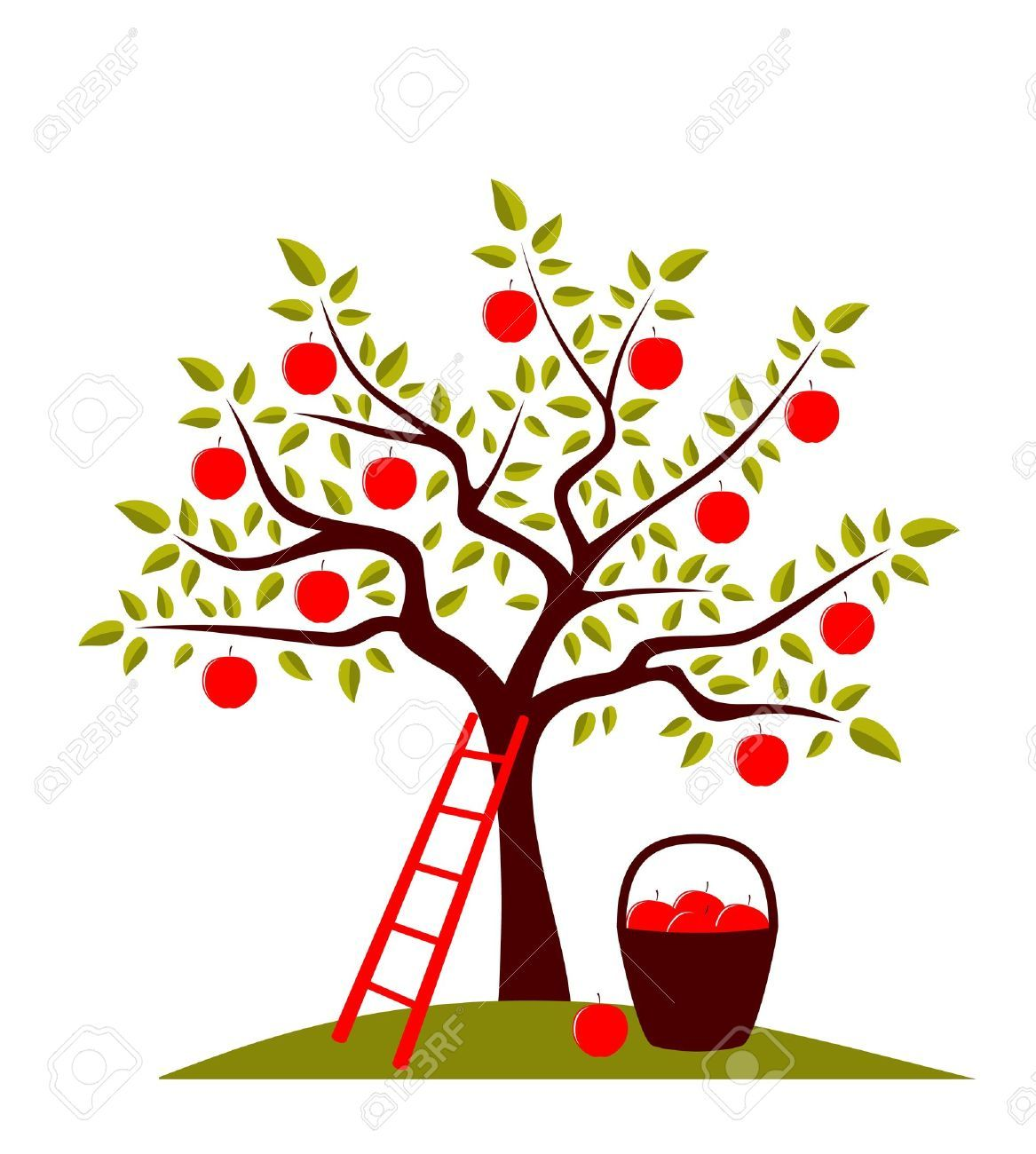 apple tree images  stock pictures  royalty free apple tree photos puita pinterest yom kippur clip art black and white free yom kippur clipart black and white