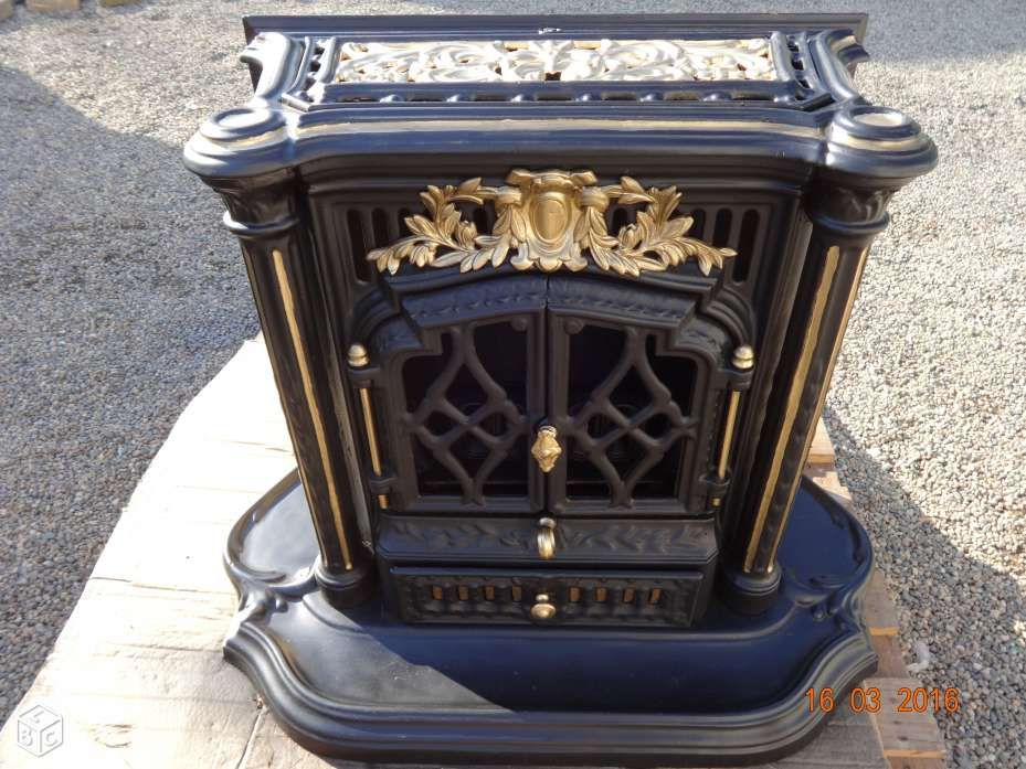po le godin bois poeles bois anciens fonte pinterest poele godin po le et bois ancien. Black Bedroom Furniture Sets. Home Design Ideas