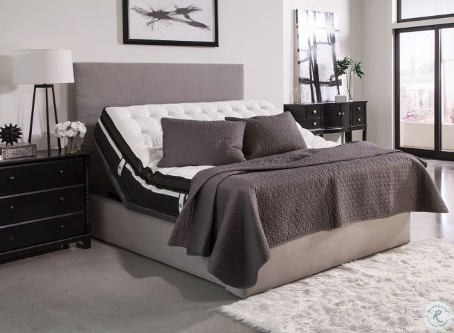 Montclair Gray King Adjustable Bed from Coaster Coleman