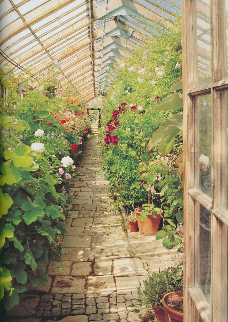 Greenhouse Floor Flagstone Bricks Cobblestone Maybe