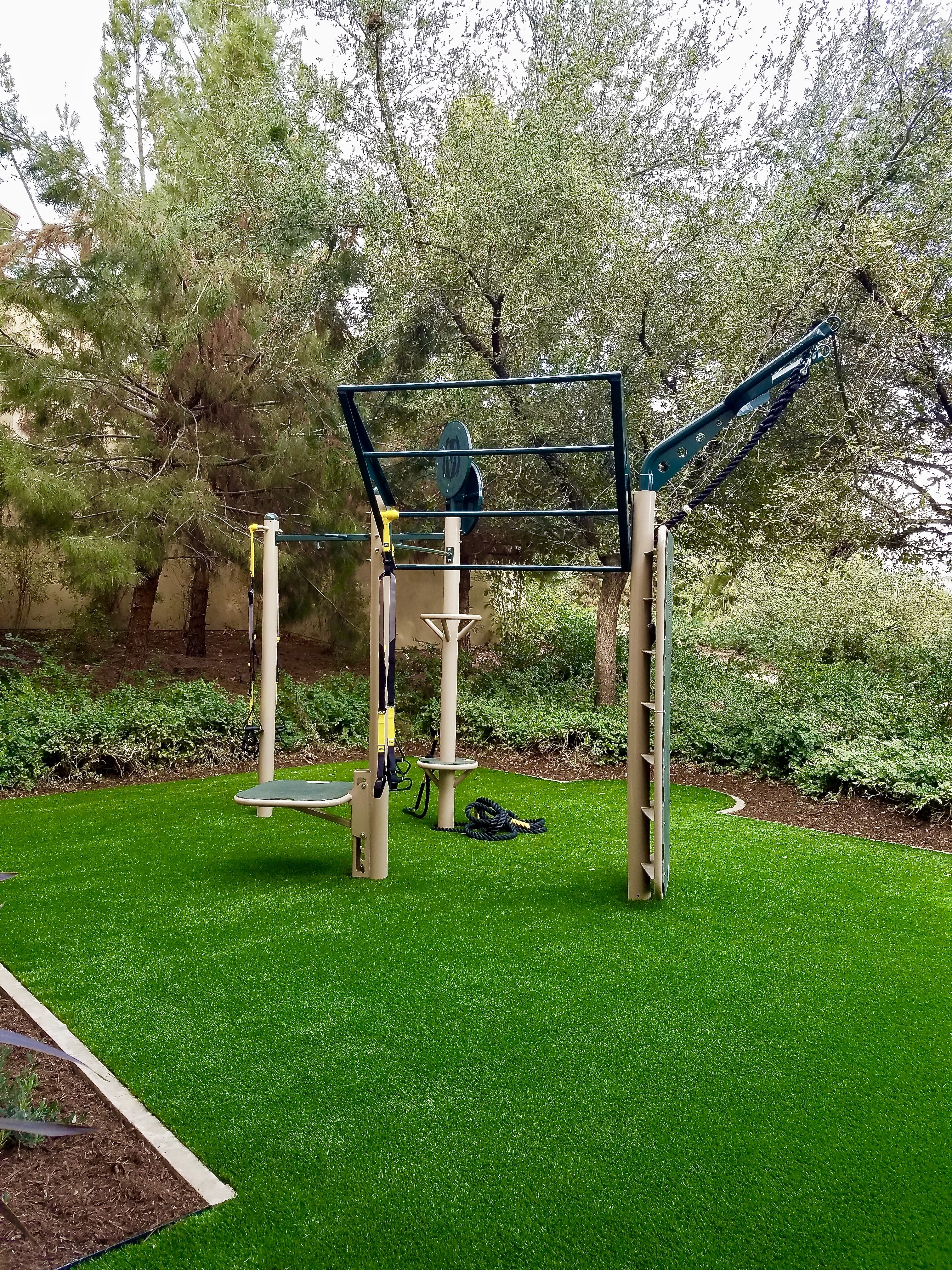Back Yard Outdoor Fitness Stations