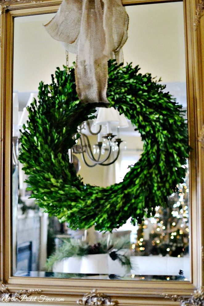 Our Preserved Boxwood Wreaths Are One Of My Favorite Decor