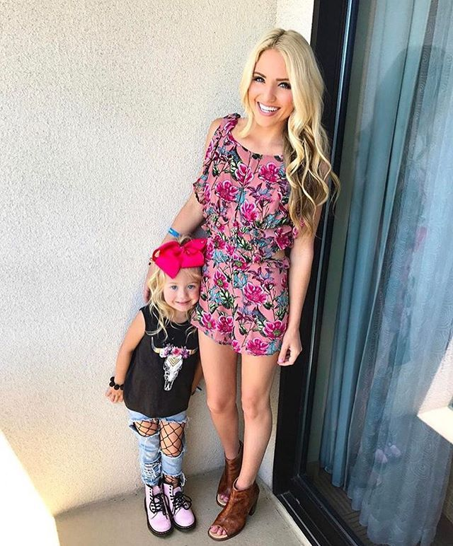 15d777bc6612 Everleigh and Savannah Soutas in our For Love   Lemons Churro Romper ...
