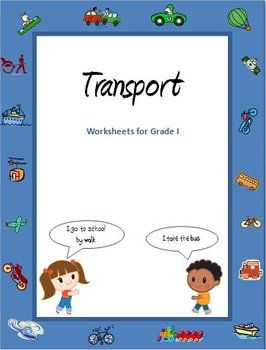 transport and vehicles worksheets for grade 1 worksheets teaching ideas and kindergarten. Black Bedroom Furniture Sets. Home Design Ideas