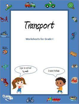 transport and vehicles worksheets for grade 1 worksheets teaching ideas and kindergarten. Black Bedroom Furniture Sets. Home Design Ideas