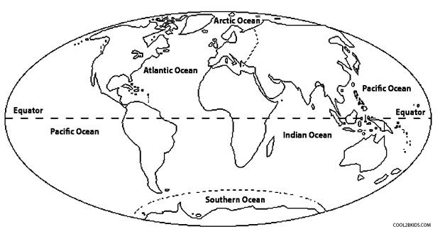 World Map Coloring Pages World Map Coloring Page Coloring Pages