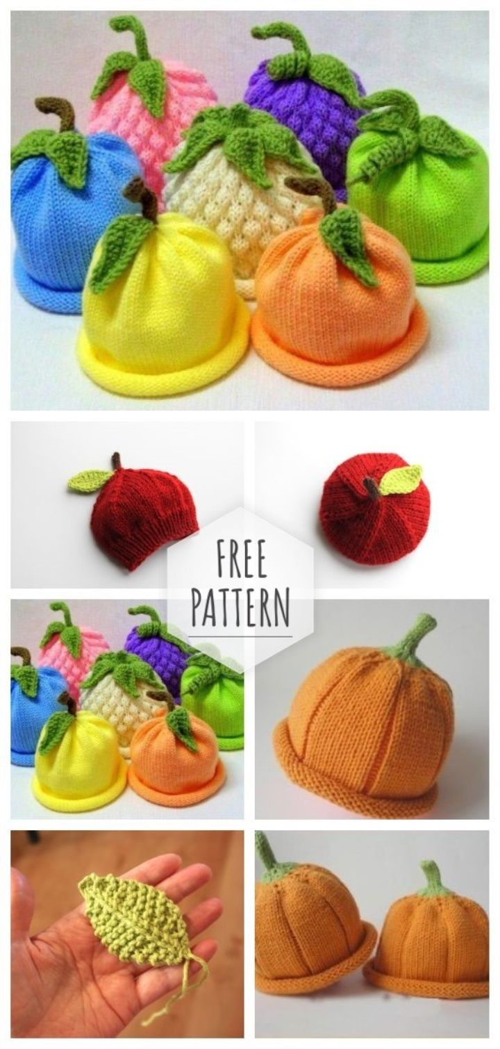Caps for babies free pattern #bonnets