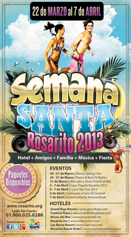 Semana Santa Rosarito Beach Baja California Mexico  http://www.instant-mex-auto-insur.com/baja-log/index.php?id=rosarito-spring-break
