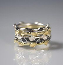 Gold & Silver Rings by Analya Cespedes