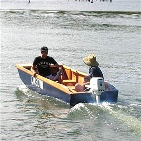 Handy Punt Plan – Light Cartop Outboard Dinghy for Fishing, RVs and Caravanning