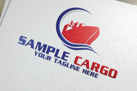 Cargo | Logistics | Logo Template by REDVY on @creativemarket